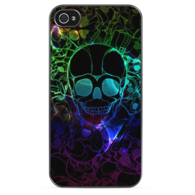 Чехол для iPhone Light skull