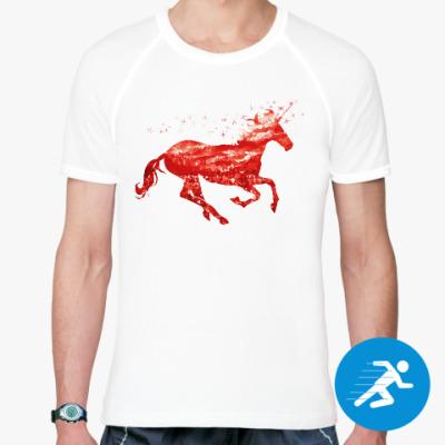Спортивная футболка Рубиновый Единорог