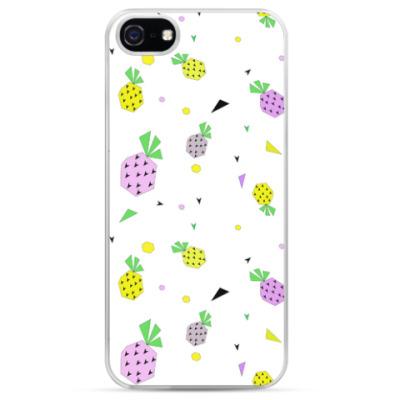 Чехол для iPhone Веселый Ананас
