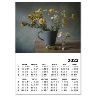 Календарь Ромашки и пупавки