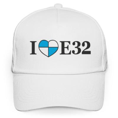 Кепка бейсболка I love E32