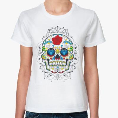 Классическая футболка Sugar Skull