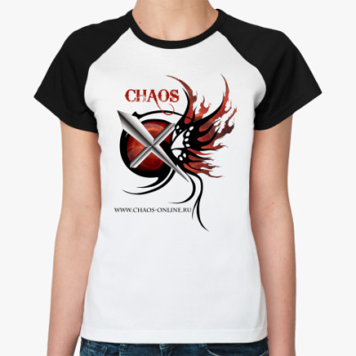 Женская футболка реглан Chaos
