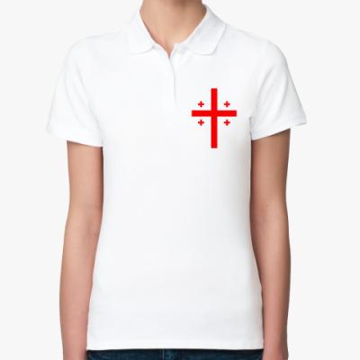 Женская рубашка поло Georgia (Грузия)