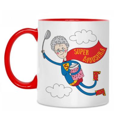 Кружка Супер - бабушка!