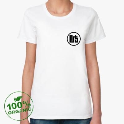 Женская футболка из органик-хлопка Иероглиф