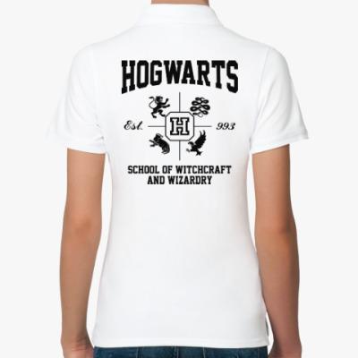 Женская рубашка поло Hogwarts