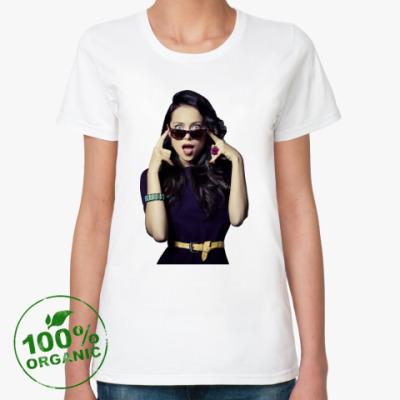 Женская футболка из органик-хлопка Настасья Самбурская