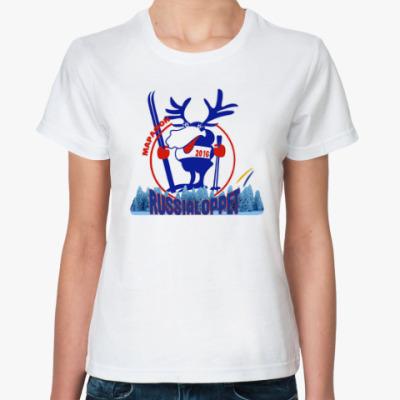 Классическая футболка Russialoppet