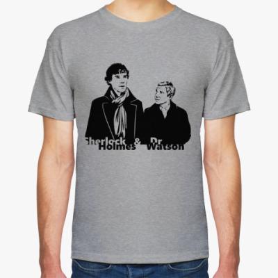 Футболка Шерлок Холмс и Доктор Ватсон