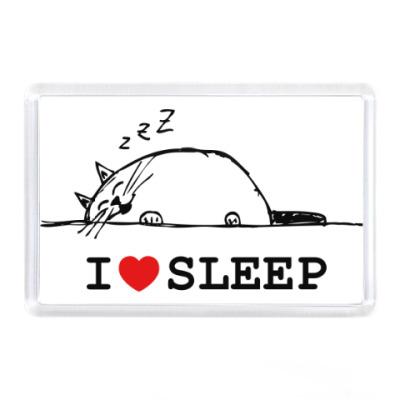 Магнит Я люблю спать