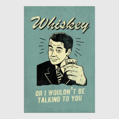 Постер Виски