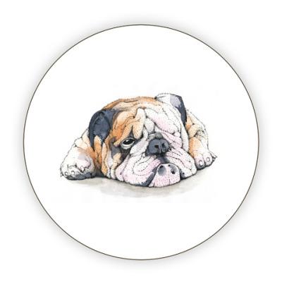 Костер (подставка под кружку) Dog