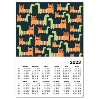 Календарь С котиками