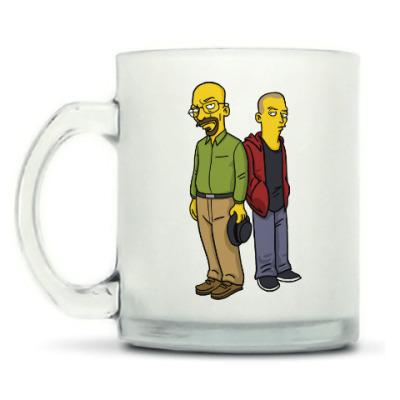 Кружка матовая Breaking Bad Simpsons