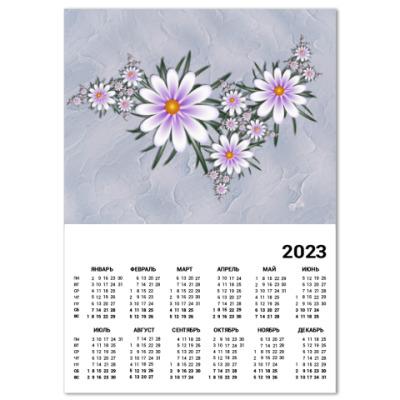 Календарь Нежные цветы