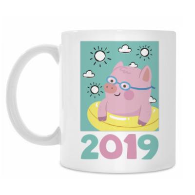 Кружка Год 2019 Свиньи