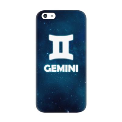 Чехол для iPhone 5c Знак зодиака. Близнецы