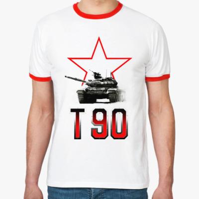 Футболка Ringer-T Танк Т-90