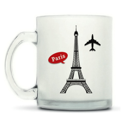 Кружка матовая Париж, Франция