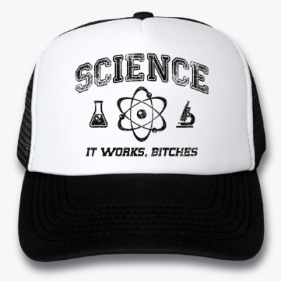 Кепка-тракер Science . It works b...tches!