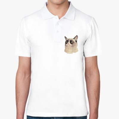 Рубашка поло Grumpy Cat / Сердитый Кот