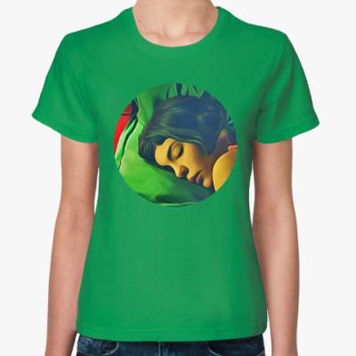 Женская футболка Амели из Монмартра