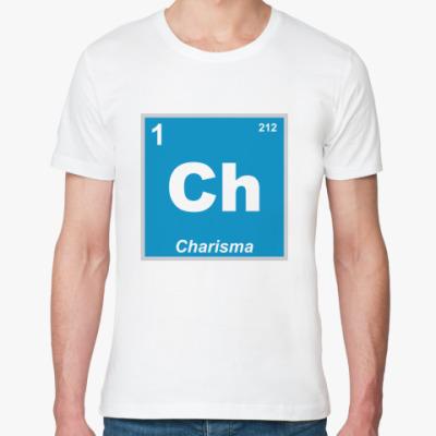 Футболка из органик-хлопка Charisma (Christian)