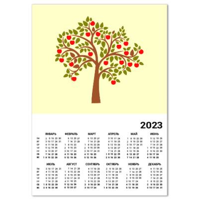 Календарь Яблоня