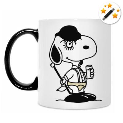 Кружка-хамелеон Snoopy Clockwork Orange