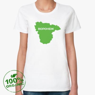 Женская футболка из органик-хлопка Воронеж