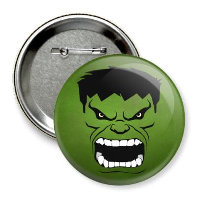 Значок 75мм Hulk