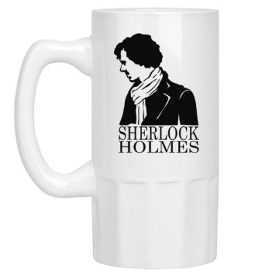 Пивная кружка Шерлок