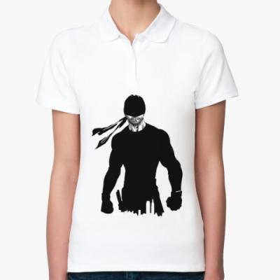 Женская рубашка поло Daredevil