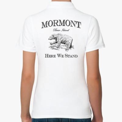 Женская рубашка поло Mormont
