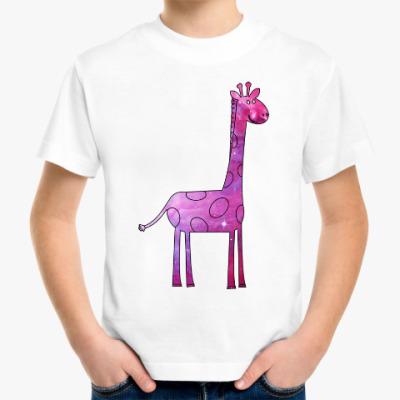 Детская футболка Космический Жираф