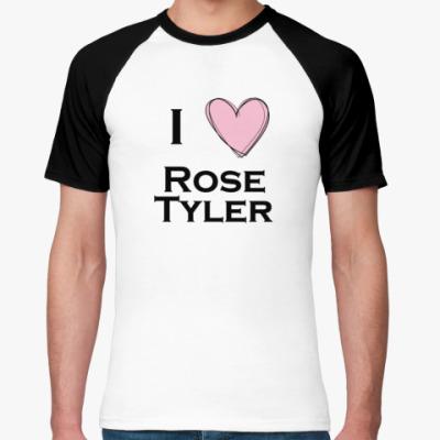 Футболка реглан I <3 Rose Tyler
