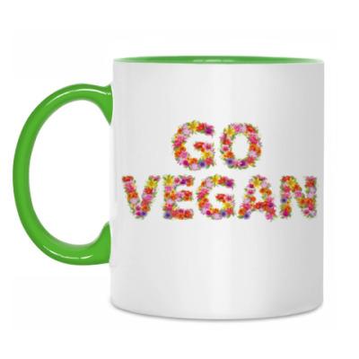 Кружка Go vegan