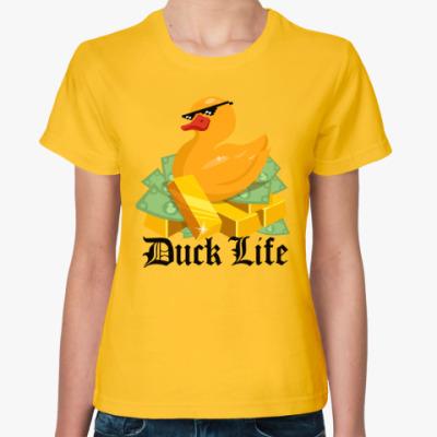 Женская футболка Duck Life