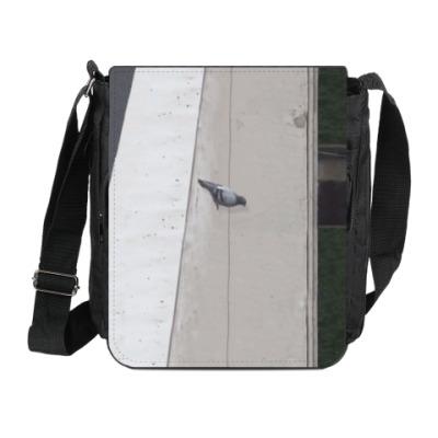 Сумка на плечо (мини-планшет) Прыжок голубя