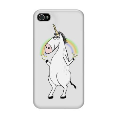 Чехол для iPhone 4/4s Единорог