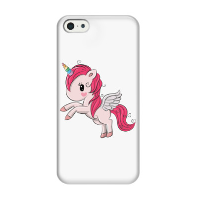 Чехол для iPhone 5/5s Единорог