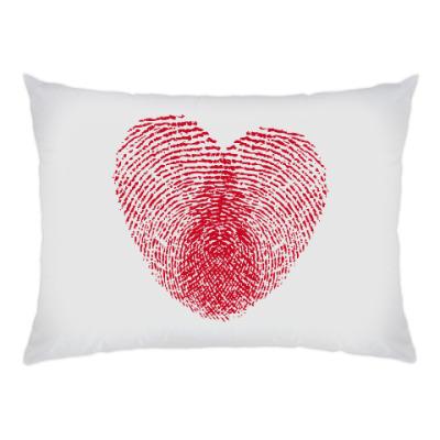 Подушка Отпечатки Любви