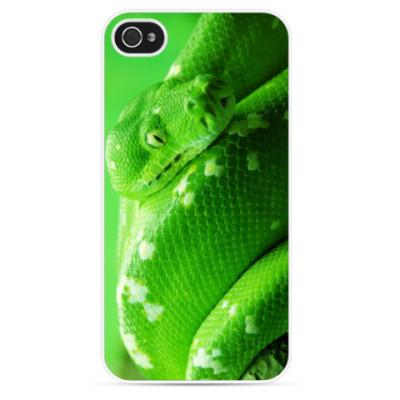 Чехол для iPhone Green Shake