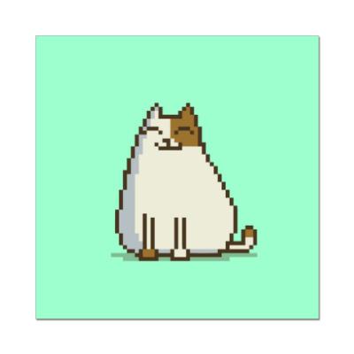 Наклейка (стикер) Пятничный Котик №15