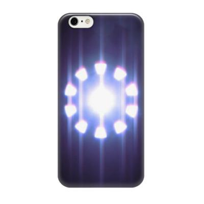 Чехол для iPhone 6/6s Реактор (Железный Человек)