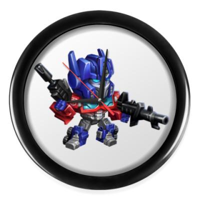Настенные часы Optimus Prime