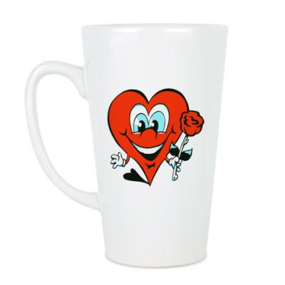Чашка Латте Сердце