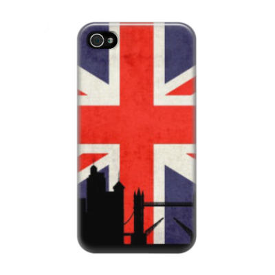 Чехол для iPhone 4/4s Лондон