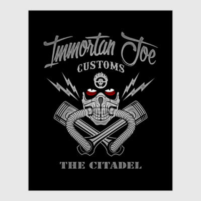 Постер Immortant Joe customs